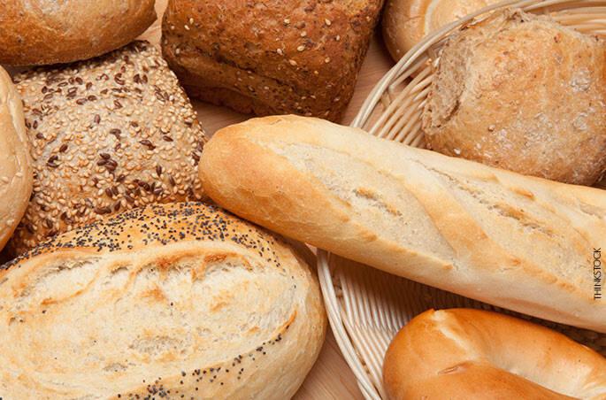 2 . Pão francês x Pão integral