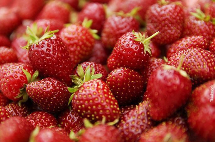 1 – Frutas vermelhas