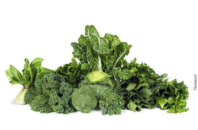 3 – Vegetais de folhas escuras