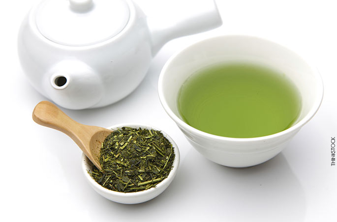 8 – Chá verde