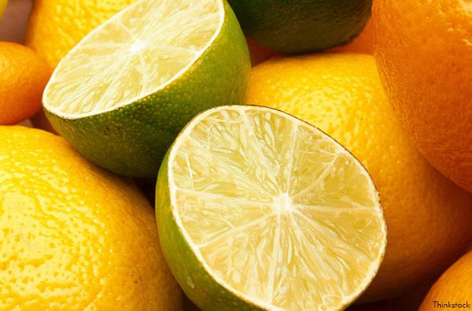5 – Frutas cítricas
