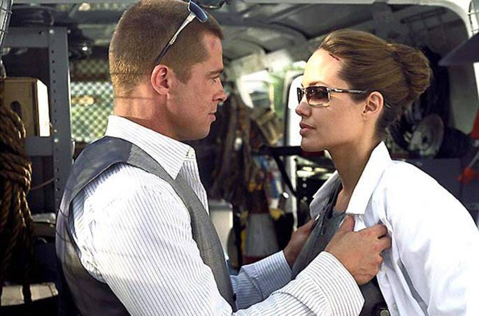 5 - Angelina Jolie e Brad Pitt