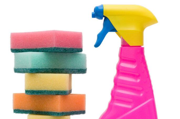 4 - Esponja de lavar louça