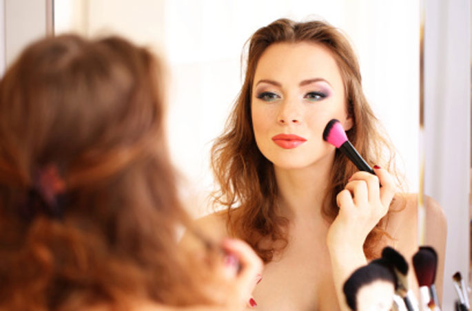 3 - Limpe seus pincéis de maquiagem