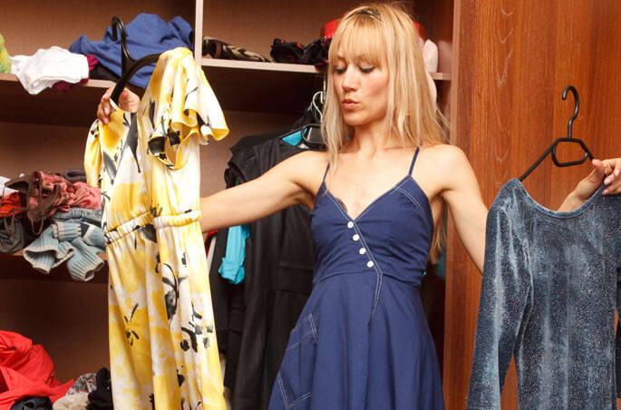 6 – Não se desfaça das roupas por qualquer motivo