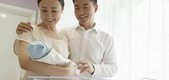 Leva um tempo para se apaixonar completamente pelo bebê