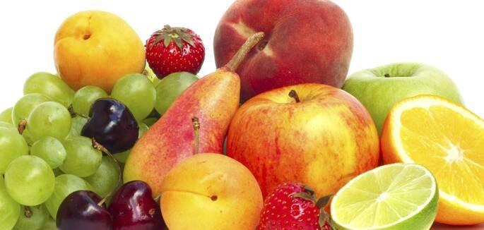3 - Frutas secas e frescas