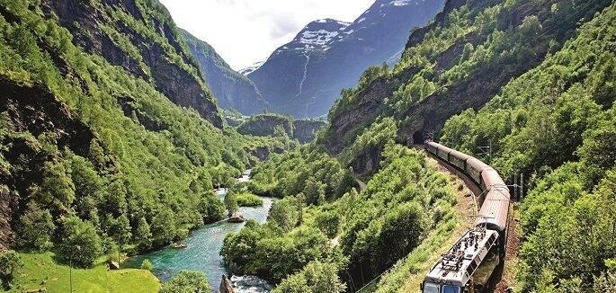 Noruega é famosa também pelos seus Fjords!