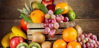 *** Fresh Fruits *** Wide Desktop Background