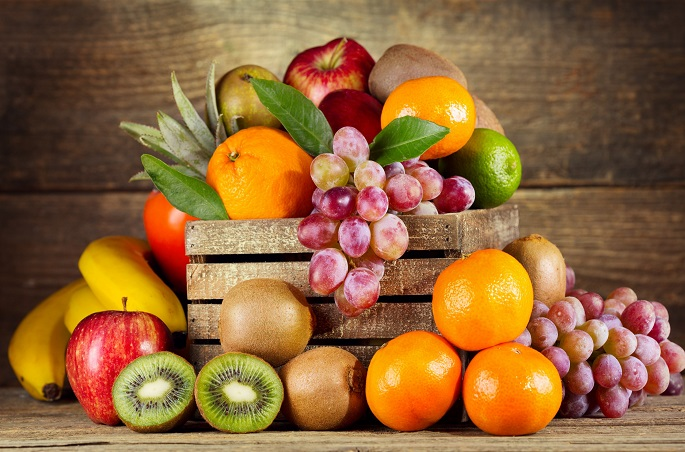 *** Fresh Fruits *** Wide Desktop Background